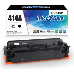 INK E-SALE Replacement for HP 414A Black Toner Cartridges,NO CHIP
