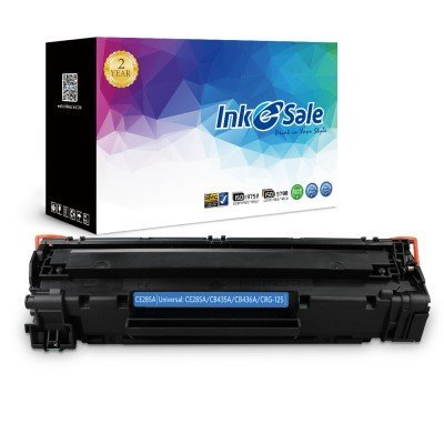 INK E-SALE Replacement for HP CE285A (85A) Black Toner Cartridge, High Yield