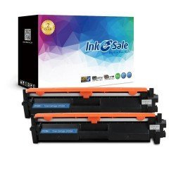 INK E-SALE New Compatible HP 30A CF230A  ( With Chip ) Black Toner Cartridge - 2 Packs