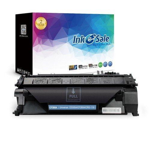 INK E-SALE Replacement for HP CF280A (80A) Black Toner Cartridge
