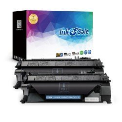 HP CF280A (80A) Black Compatible Toner Cartridge - 2 Pack