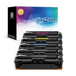HP 410A (CF410A CF411A CF412A CF413A) Compatible Toner Cartridge 5 Color Set