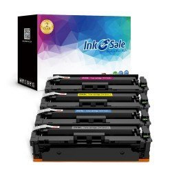 HP 410A (CF410A CF411A CF412A CF413A) Compatible Toner Cartridge 4 Color Set