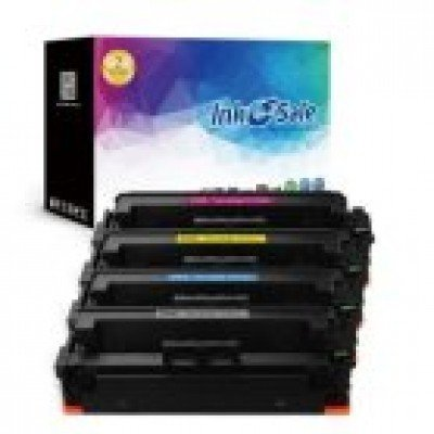 INK E-SALE Compatible HP 410X CF410X CF411X CF412X CF413X Toner Cartridge,4 Pack