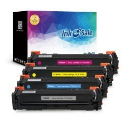 INK E-SALE Compatible HP 202A (CF500A CF501A CF503A CF504A) Toner Cartridge KCMY - 4 Pack