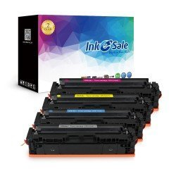 INK E-SALE Compatible HP 204A (CF510A CF511A CF512A CF513A) Toner Cartridges 4 Color Set