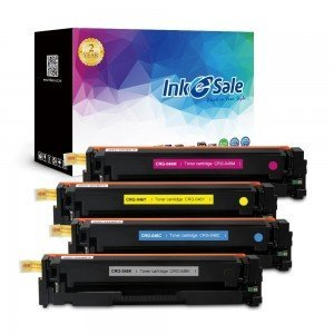 INK E-SALE Replacement Canon CRG-046 KCMY Toner Cartridges - 4 Pack