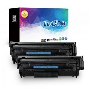 INK E-SALE Replacement for Canon 104 Black Toner Cartridge 2Pack