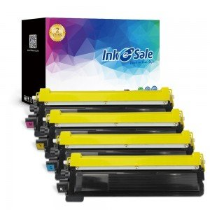 Brother TN210 Compatible Toner Cartridges 4 Color Set (Black/Cyan/Yellow/Magenta)