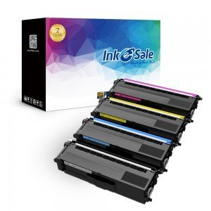 Brother TN310 TN315  Compatible Toner Cartridge Color 4 Set (1Black, 1Yellow, 1Cyan, 1Magenta)