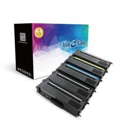 Compatible Brother TN310 TN315 Toner Cartridges 5 Color Set (2Black, 1Cyan, 1Magenta, 1Yellow)