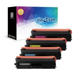 Compatible Brother TN433 TN431 Toner Cartridge 4 Set (Black, Cyan, Magenta, Yellow)