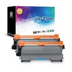 INK E-SALE Replacement for Brother TN450 / TN420 Black Toner Cartridge - 2 Pack