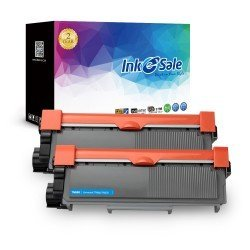 INK E-SALE Replacement for Brother TN660 TN630 Black Toner Cartridge 2 Pack