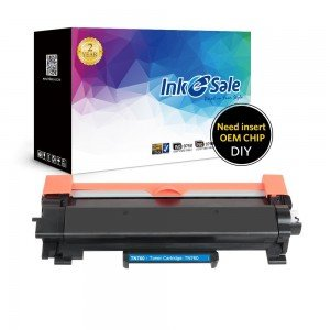 INK E-SALE Compatible Brother TN760 Black Toner Cartridge DIY Version