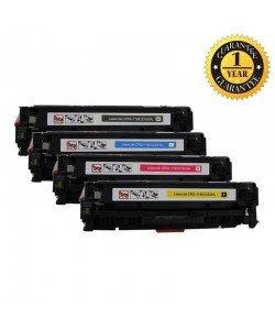 INK E-SALE CC530A CC531A CC532A 304A toner cartridge 4 Pack (Black, Cyan, Magent