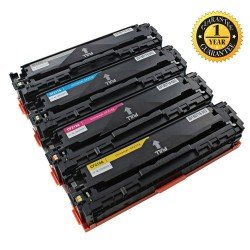 HP 131X (CF210X CF211A CF212A CF213A) Remanufactured Toner Cartridge - 4 Color Set