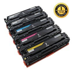 HP 131X Remanufactured  High-Yield 5-Piece Combo Pack (2Black, 1Cyan, 1Yellow,1Magenta)