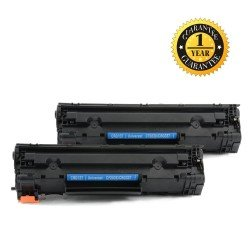 INK E-SALE Replacement for HP 83X CF283X Black Toner Cartridge-2 Pack