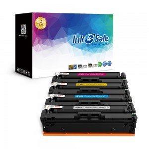 INK E-SALE Replacement for CF400X CF401X CF402X CF403X (201X) Black / Cyan / Yel