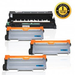 INK E-SALE High Yield Combo Set for DR630 Drum Unit and TN660 TN630 Toner Cartridge (1 Drum, 3 Toner