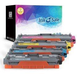 Brother TN221/TN225 Toner Cartridges Color 4 Set (Black,Cyan Magenta Yellow)