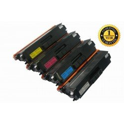 INK E-SALE TN336 High Yield Compatible Toner Cartridge Set(Black Yellow Cyan Magenta, 4 Pack)