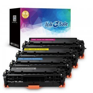 INK E-SALE HP 304A CC530A CC531A CC532A Toner Cartridge 4 Pack (Black, Cyan, Magenta, Yellow)