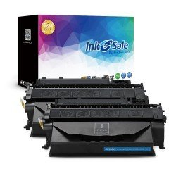 INK E-SALE Replacement for HP 80X CF280X Black Toner Cartridge 2 Pack