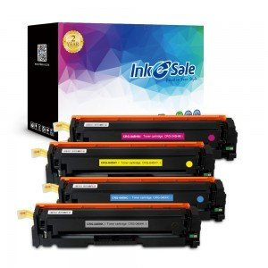 INK E-SALE Replacement Canon CRG-045H KCMY Toner Cartridges - 4 Packs