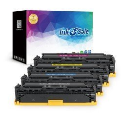 Canon 131H Remanufactured Toner Cartridge Color 4 Set