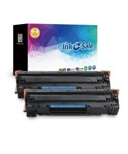 INK E-SALE Replacement for Canon 137 Black Toner Cartridge-2 Pack
